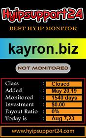 ссылка на мониторинг http://hyipsupport24.com/details/lid/101/
