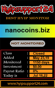 ссылка на мониторинг http://hyipsupport24.com/details/lid/1053/
