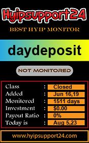 ссылка на мониторинг http://hyipsupport24.com/details/lid/1205/