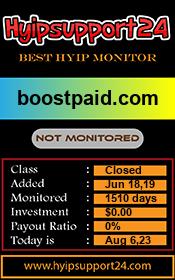 ссылка на мониторинг http://hyipsupport24.com/details/lid/1249/