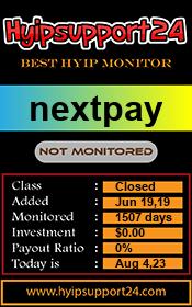 ссылка на мониторинг http://hyipsupport24.com/details/lid/1259/