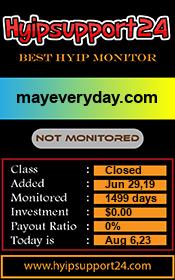 ссылка на мониторинг http://hyipsupport24.com/details/lid/1391/