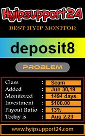 ссылка на мониторинг http://hyipsupport24.com/details/lid/1405/
